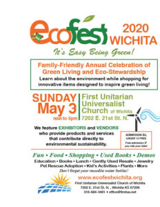 This is the event flyer for EcoFest 2020.